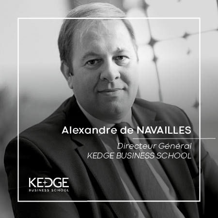 A. De Navailles : Message aux étudiants - KEDGE