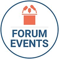 Logo forum events kedge