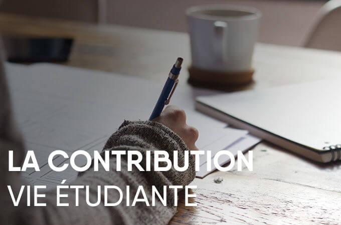 La contribution vie étudiante et de campus - KEDGE
