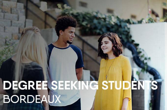 Degree Seeking student - KEDGE