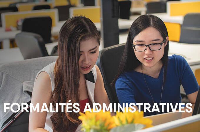 Vos formalités administratives / 行政手续 - KEDGE